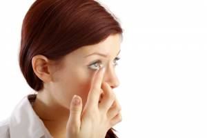 Optik Orso Kontaktlinse einfügen