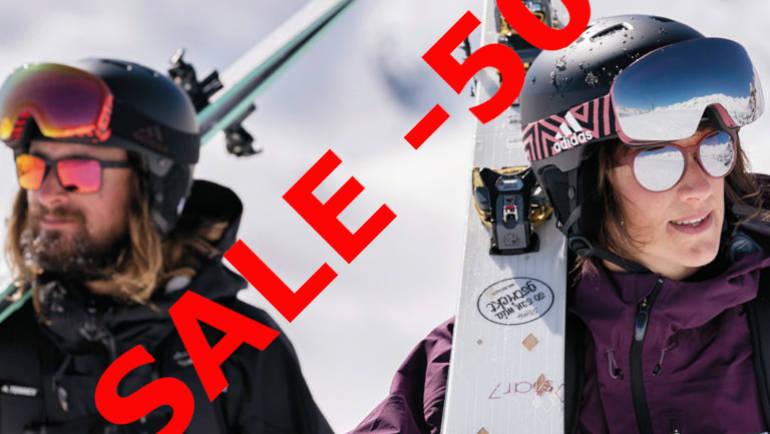 -50% auf Adidas Sportbrillen