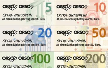 """Jetzt """"Extra""""-Gutscheine sichern!"""