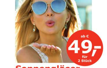 Optische Sonnengläser ab nur EUR 49,–